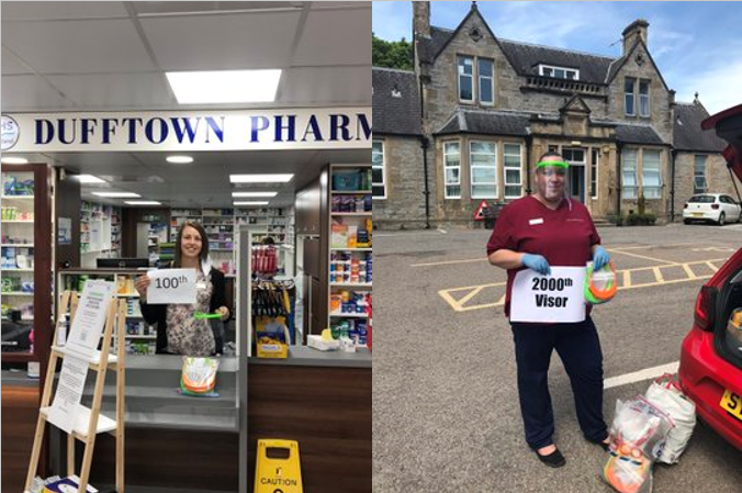 Dufftown 100th and 2000th